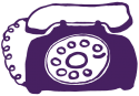 rotary-phone-purple
