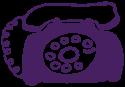 rotary-phone-purple
